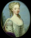 1730-1734 Anne, Princess Royal and Princess of Orange attributed to Christian Friedrich Zincke (Rijksmuseum - Amsterdam, Holland) Wm
