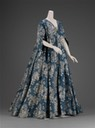 1730 Robe volante (Museum of Fine Arts - Boston, Massachusetts USA)