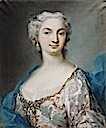 1730 (after) Josepha Castelbarco Visconti by Rosalba Carriera