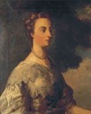 1730s Diana Russell, Duchess of Bedford (Woburn Abbey) by Thomas Hudson (auctioned by Christie's) Wm fixed
