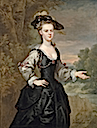 1731 Lady by John Vanderbank (Philip Mould)