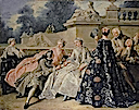 1731 The Declaration of Love by Jean François de Troy (Preußische Schlößer und Gärten Berlin, Charlottenburg Palace - Berlin Germany)