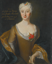 1732 Eva Friederike Charlotte, Gräfin von Einsiedel (1704-1758) by Louis de Silvestre (auctioned by Sotheby's) From the Sotheby's Web site