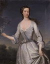 1735 Henrietta, née Godolphin, wife of Thomas Pelham-Holles, Duke of New Castle Upon Tyne and first Duke of Newcastle Under Tyne and Prime Minister by Charles Jervas (auctioned by Sotheby's)