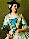 1738-1742 Lady Tyrell by Jean-Étienne Liotard (location unknown to gogm)