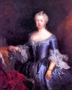 1750s (early) Elisabeth Christine of Prussia, nee Braunschweig Bevern by Antoine Pesne