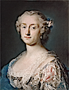 1740-1745 Comtesse Miari by Rosalba Carriera (private collection)