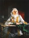 1741 Madame Crozat by Jacques-Andre-Joseph Aved (Musee Fabre, Montpellier)