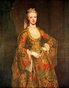 1742-1743 Lady Caroline Ponsonby, née Cavendish in costume veneziano by Jean Étienne Liotard (location unknown to gogm)