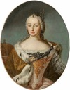 1742-1744 (some time between) Maria Theresia by Martin van Meytens the Younger (on auction by Das Kunst- und Auktionshaus Kastern GmbH & Co KG)