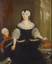 1742 Anna Sophia Charlotte of Brandenburg-Schwedt, Duchess of Saxe-Eisenach by Anna Rosina de Gasc (auctioned by Lempertz) From the Lempertz Web site despot shadows