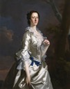 1742 Mary de Cardonnel (c.1719–1787), Countess Talbot by Allan Ramsay (Newton House, Dinefwr Park and Castle - Llandeilo, Carmarthenshire (Sir Gaerfyrddin), UK)