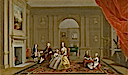 1742-1743 John Bacon family by Arthur Devis (Yale Center for British Art - New Haven, Connecticut USA)