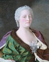 1743 Maria Theresia by Jean Étienne Liotard (Rijksmuseum - Amsterdam Netherlands)
