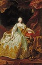 1744 Maria Theresia by Martin van Meytens (location unknown to gogm)
