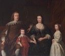 1745 The Earl and Countess of Huntingdon and their Two Children, Selina and Henry by Andrea Soldi (Cheshunt Foundation, Westminster College, University of Cambridge)