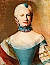 1745-1746 Duchess Elisabeth Friederike Sophie von Württemberg by Jean-Étienne Liotard (location unknown to gogm)