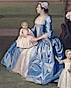 1745-1747 Elizabeth Gwillym of Atherton Hall, Herefordshire by Arthur Devis (Yale Center for British Art - New Haven, Connecticut USA)