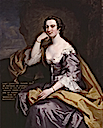1745 (before) Lady Charlotte Finch, née Fermor by John Robinson (National Portrait Gallery - London UK)