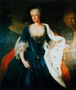 1746 (before) Markgräfin Friederike Luise von Brandenburg-Ansbach by Johann Christian Sperling (location unknown to gogm)