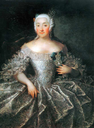 1746 Countess V.A. Sheremeteva by Georg Christoph Grooth (Tretyakov Gallery, Moskva)