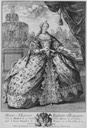 1746 Marie Thérèse Raphaëlle, Infanta of Spain by ? (Bibliothèque nationale de France)