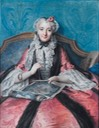 1746 Marquise de Sainte Aldegonde ou du Raincourt by Charles-Antoine Coypel (auctioned by Sotheby's) From the Sotheby's Web site