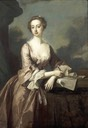 1746 Mary Howard, née Finch, Viscountess Andover by Thomas Hudson (Kenwood House - Hampstead, London UK)