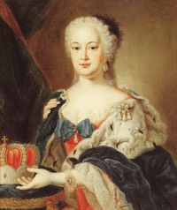 1748 Kurfurstin Elisabeth Auguste by Felix Anton Besold (location unknown to gogm)