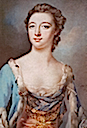 ca. 1750 Elizabeth Gunning by Richard Houston (location unknown to gogm)