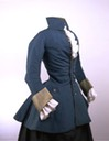1750s blue riding habit (Victoria and Albert Museum - London UK)