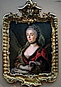 1750s (late) - 1760s Countess Wilhelmina Solms by Jean Samsois (private collection)