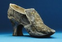 1751 Shoe worn by Lovisa Ulrika (Royal Armoury, Skokloster Castle and The Hallwyl Museum - Stockholm Sweden)