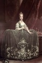 1752-1770 (some time) Maria Carolina of Austria by Martin van Meytens (Hofburg, Innsbruck Austria)
