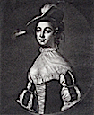 1752 or after Maria Gunning, famous beauty; first wife of George Coventry, 6th Earl of Coventry after Francis Cotes (Grosvenor Prints)