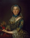 1753-1755 Madame Pierre de Rigaud de Vaudreuil, née Jeanne-Charlotte de Fleury Deschambault by ? (location unknown to gogm)