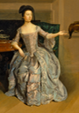 1754-1756 Anne Orde by Arthure Devis (Yale Center for British Art - New Haven, Connecticut USA)