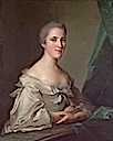 1754 Elizabeth, Countess Warwick by Jean Marc Nattier (Frick collection, New York City)