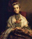 1757-1758 Caroline, Lady Holland by Sir Joshua Reynolds (location unknown to gogm)