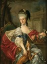 """1757"" Izabela Lubomirska, the Blue Marquise by Marcello Bacciarelli (Museum Palace at Wilanow - Warszawa, Poland)"