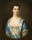 1757 Mary Bernard (d.1793), of Brampton Park, Huntingdonshire by Allan Ramsay (Peterborough Museum & Art Gallery - Peterborough unitary district in Cambridgeshire UK)