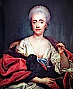 1757 (copy of original of that date) Mariana de Silva y Sarmiento, Duchess of Huescar by Anton Raphael Mengs (private collection)