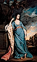 1758-1759 Portrait of a Woman (Possibly Lady Frances Warren) by Sir Joshua Reynolds (Kimbell Art Museum, Fort Worth, Texas)