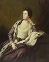 1759-1760 Charlotte, Lady Maynard (c.1731-1762), née Bishopp by Sir Joshua Reynolds (Hunterian Museum, University of Glasgow - Glasgow UK)