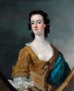 1759 Unknown Lady of the Darnborough Family by Nathaniel Drake (Ripon City Council - Ripon, North Yorkshire UK)