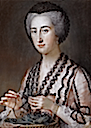 1759 (after) Susanna Hoare (1732-1783) by William Hoare of Bath (auctioned by Sotheby's)