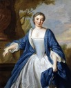 1760 Comtesse de Beaufort by Louis Michael van Loo (The Cornell Fine Arts Museum at Rollins College - Winter Park, Florida USA)