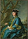 1760 Louise Elisabeth de France in hunting dress by Jean-Marc Nattier (Versailles)