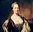 1760 Maria Anna von Pfalz-Sulzbach, Princess of Bavaria by Georg Desmarées (private collection)