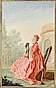 1760 Vicomtesse de Rochechouart by Louis Carrogis (Musée Condé - Chantilly France)